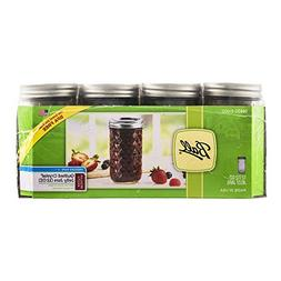 Ball Mason Quilted Jelly Jars with Lids and Bands, Set of 12