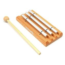 Meditation Trio Chime, Ehome Solo Percussion Instrument with