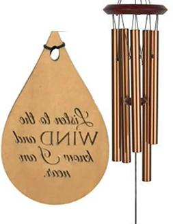 Memorial TOP rated Wind Chime Teardrop PRIME Rush Shipping f