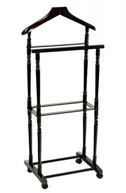 Frenchi Home Furnishing Men Suit Valet Stand with Suit Hange