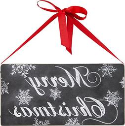 Primitives by Kathy Merry Christmas Chalk Sign