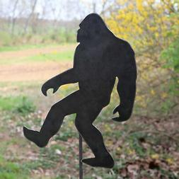 metal bigfoot garden stake steel gardening decor