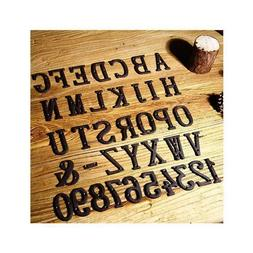 Metal Letters Numbers Cast Iron Decoration House Sign Doorpl