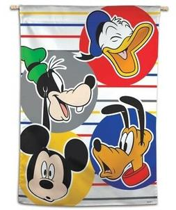 Mickey Mouse and Friends Disney House Flag Vertical Banner 2