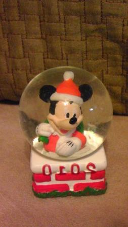 Mickey Mouse JcPenney Snowglobe Waterglobe Globe Christmas H