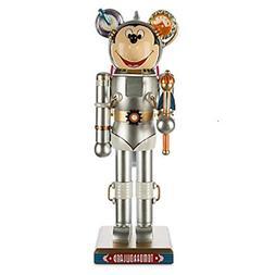 "Mickey Mouse Tomorrowland Nutcracker Figurine--121/2"" Limite"