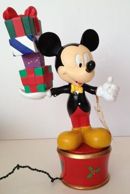 Mr. Christmas Mickey Mouse Twirling Table Piece / TreeTop