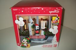 MICKEY STEAMBOAT WILLIE  GEMMY AIRBLOWN CHRISTMAS 90TH ANNIV