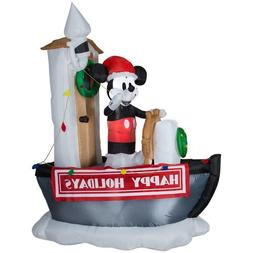 MICKEY STEAMBOAT WILLIE GEMMY CHRISTMAS 90TH ANNIVERSARY INF