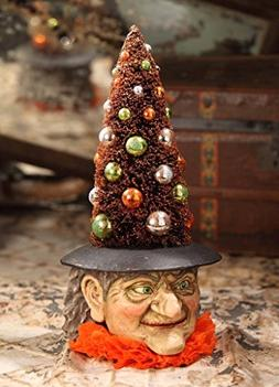 Bethany Lowe Midnight Magic Collection Halloween Tree Witch