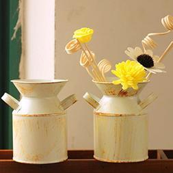 Watering Honey Set of 2 Mini Country Rustic Primitive Jug Va