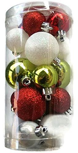 Holiday Time Miniature Christmas Tree Shatterproof Ornaments
