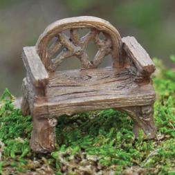 Miniature Dollhouse FAIRY GARDEN /Rustic Chair - Mini