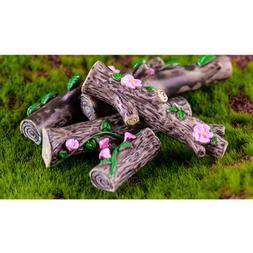 Miniature Micro Landscape Yard Dollhouse Flowerpot Tabletop