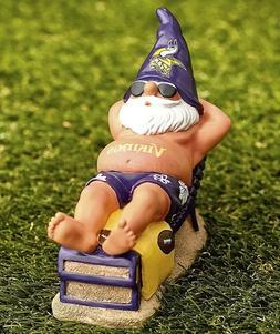 Minnesota Vikings NFL Beach Gnome Football Garden Porch Yard