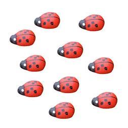 mixed mini ladybug garden ornament