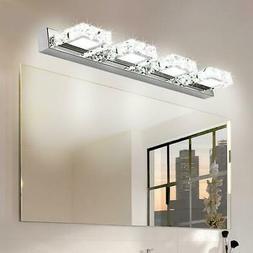 Modern Bathroom Lighting LED Crystal Mirror Front Make-up Wa