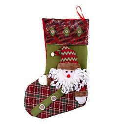 Mome Newest Christmas Stocking 4 Cute Type Santa Claus | Sno