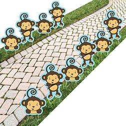 Monkey Boy - Lawn Decor -Outdoor Baby Shower or Birthday Par