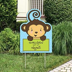 Monkey Boy - Party Decorations - Birthday Party or Baby Show