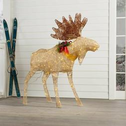 Moose Decoration Figurine Lighted Display
