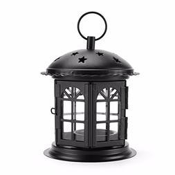 Morocco Portable Star Hollow Candle Holder Tealight Lantern