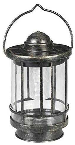 EZSolar MTO012a-R5-AA-1 Solar Premium Metal Lantern