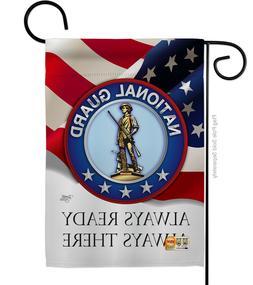 "National Guard Garden Flag 13""x18.5"""
