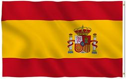 New 3x5 National Spanish Flag of Spain Country Flags Garden,