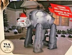 NEW 8 FT WIDE GEMMY STAR WARS HEAVY ASSAULT AT-M6 AT-AT WALK