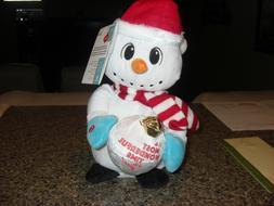 NEW Gemmy Christmas Animated Musical Plush Snowman MOST WOND