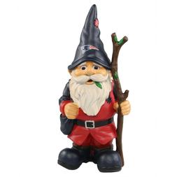 New England Patriots Holding Stick Decorative Garden Gnome 1