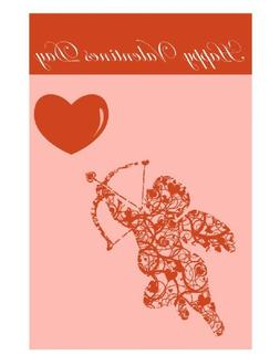 new happy valentine s day double sided