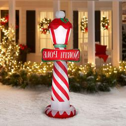 NEW Holiday Time Christmas Airblown Inflatable North Pole Si