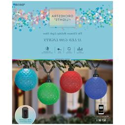 NEW Gemmy Orchestra of Lights 12 Multi-Function Color-Changi