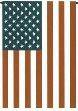NEW Darice Patriotic American Flag Garden Flag 12 x 18  4th