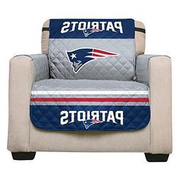 NFL New England Patriots Recliner Reversible Furniture Prote