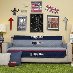 NFL New England Patriots Sofa Couch Reversible Furniture Pro