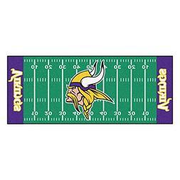 FANMATS 7358 NFL Minnesota Vikings Nylon Face Football Field