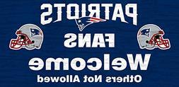 Fan Creations NFL Fans Welcome Graphic Art Plaque