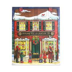 Byers' Choice St. Nick's Toy Shoppe Musical Advent Calendar