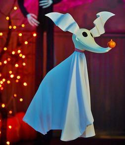 Disney NIGHTMARE BEFORE CHRISTMAS ZERO HANGING HALLOWEEN Yar