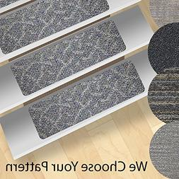 Non-Slip  Stair Treads - Indoor and Outdoor Use
