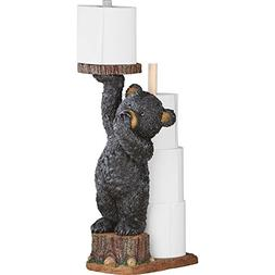 Northwoods Bear Toilet Paper Holder