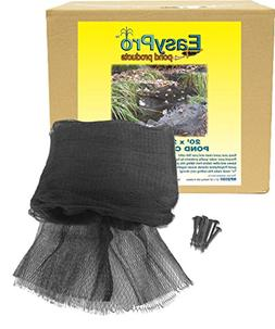 EasyPro NP2030 Premium 3/4-Inch Pond Cover Netting, 20' x 30
