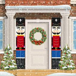 Nutcracker Christmas Decorations Outdoor Xmas Decor Life Siz