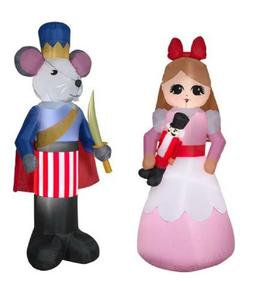 NUTCRACKER CLARA AND THE MOUSE KING Christmas Airblown Yard