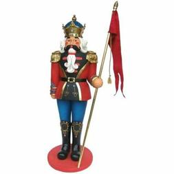 Nutcracker Soldier 6ft Life Size Statue Resin Christmas Prop