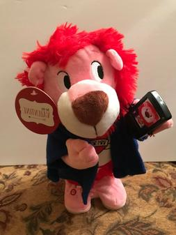 NWT Gemmy Industries Corp. Valentine's Singing/Moving Lion S