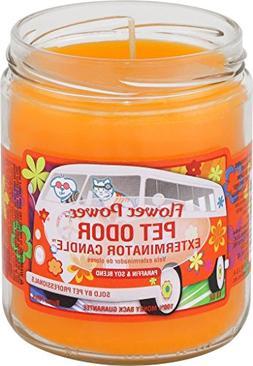 Pet Odor Exterminator Candle, Flower Power,13 oz